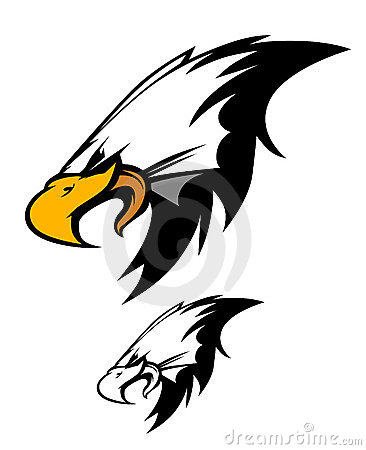 Eagle Head Mascot Vector Logo
