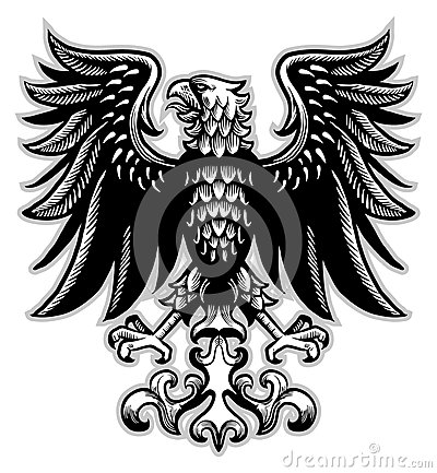Vector Graphics Of Heraldry Eagle Symbols And Tattoo