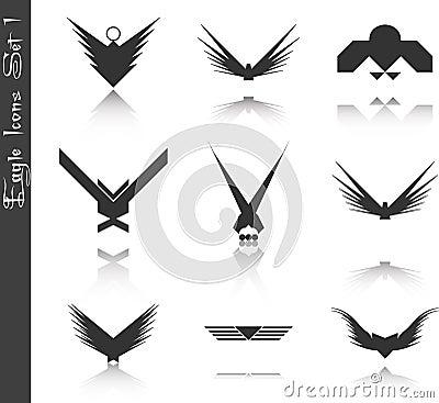 Eagle Icons Set 1