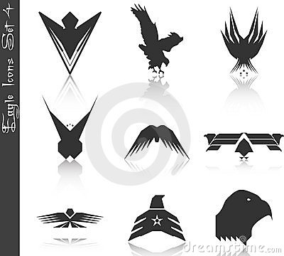 Eagle Icons Set 4