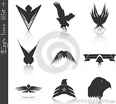 Eagle Icons Set 4