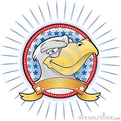 Eagle mascot