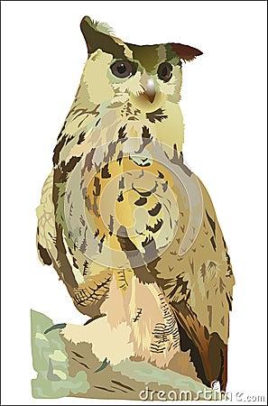 Free Eagle Owl Royalty Free Stock Photo - 280235