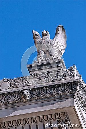 Eagle Sculpture, US Archives