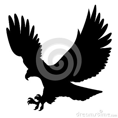 Free Eagle Silhouette 004 Royalty Free Stock Photography - 113570447
