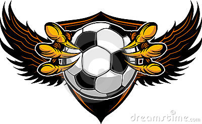 Eagle Soccer Talons and Claws Illustration