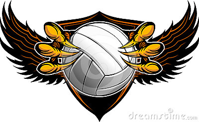 Eagle Volleyball Talons and Claws