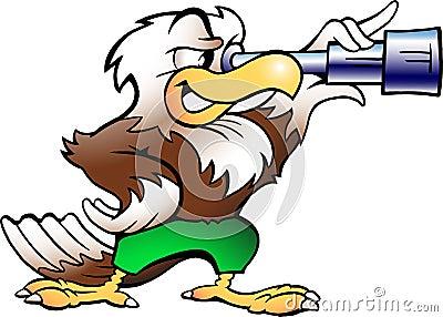Eagle Watching in Binucular