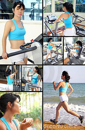 Ealthy lifestyle. fitness