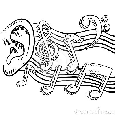 Royalty Free Stock Image Ear Full Music Vector Image24464146 on design management