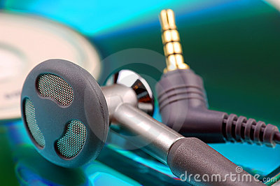 Ear phones and cd