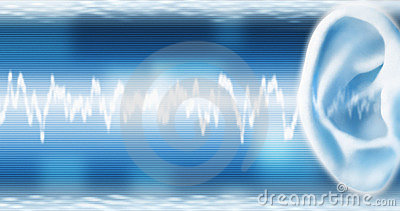 Ear With SoundWave