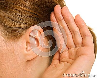 Ear women