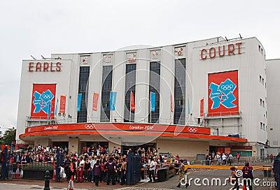 Earls Court, Londres Imagen de archivo editorial
