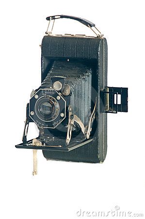 Early 20th century folding camera