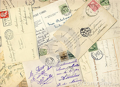 Early 900 postcards