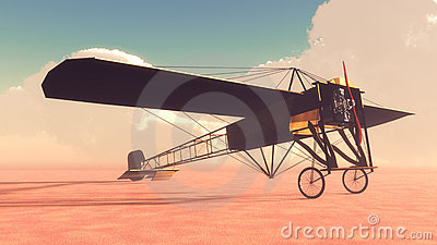 Early Airplane Bleriot XI