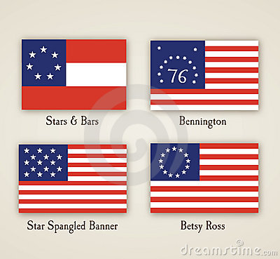 Early American Flags