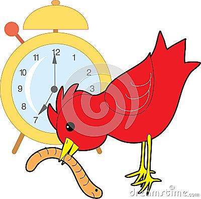 Free Early Bird Worm Stock Image - 1983091