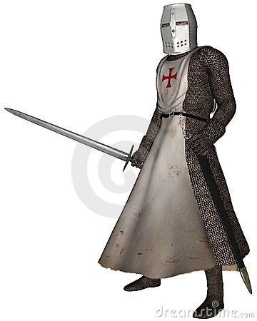 Early Medieval Templar Knight