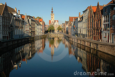 Early morning in Bruges