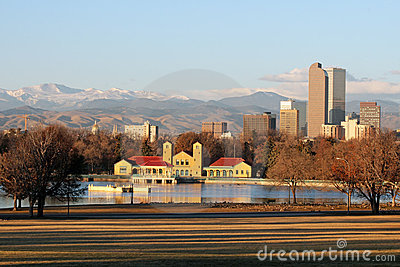 Early Morning in City Park, Denver, Colorado
