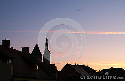 Early morning in Czechia