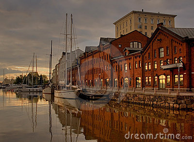 Early morning in Helsinki