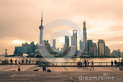 Early Morning Photographers Editorial Stock Image