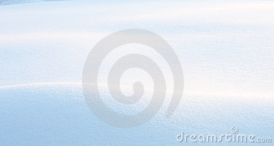 Early Morning Snowdrift Stock Images - Image: 16079214