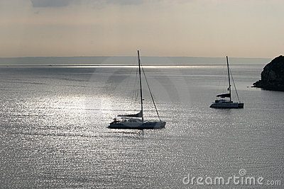 Early morning sun over Palma Bay.