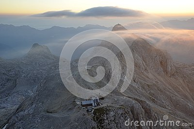 Early morning from Triglav