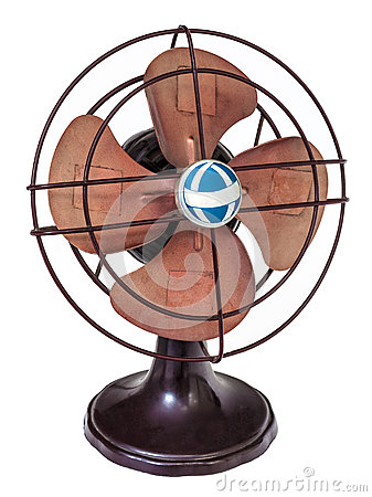 Early nineteenth century electric fan