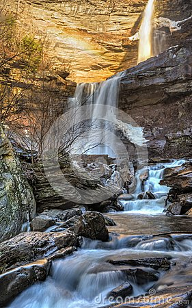 Free Early Winter Than At Kaaterskill Falls Stock Image - 111062331