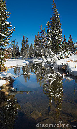Early winter in Uinta Mountains - Lakes