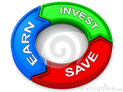 Earn save invest
