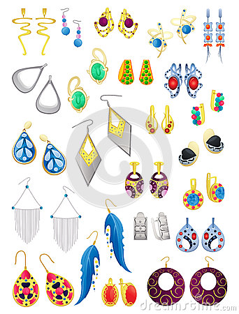 Free Earrings Stock Photography - 31010512
