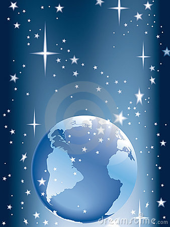 Free Earth And Stars Royalty Free Stock Photo - 5033185