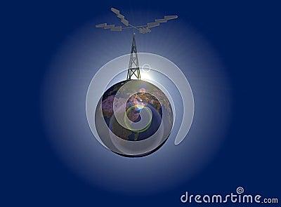 Earth antenna
