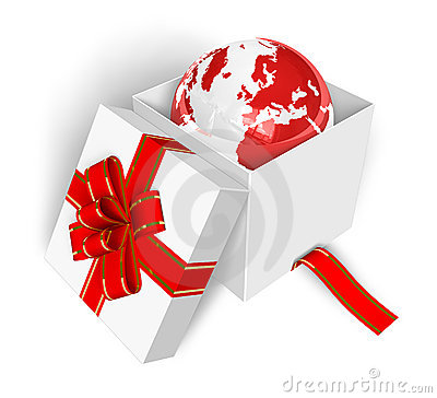 Free Earth As A Gift Stock Photos - 12430983