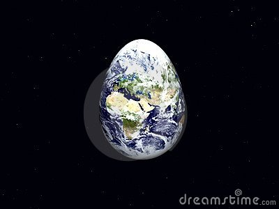 Earth as Easter Egg