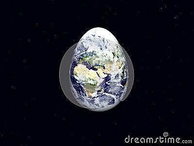 Earth as Easter Egg