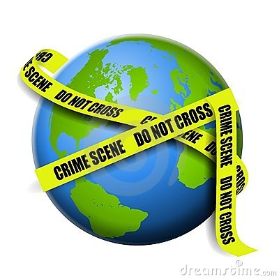 Earth As Global Crime Scene