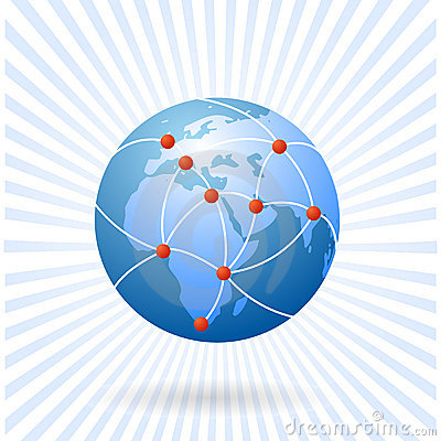 The earth as global network