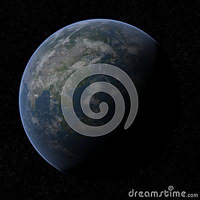 Earth - Asia.