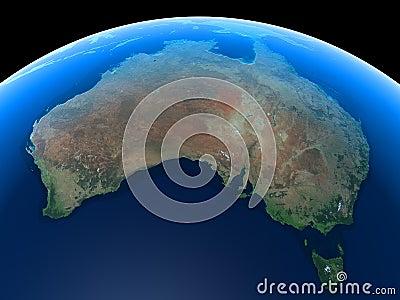 Earth - Australia
