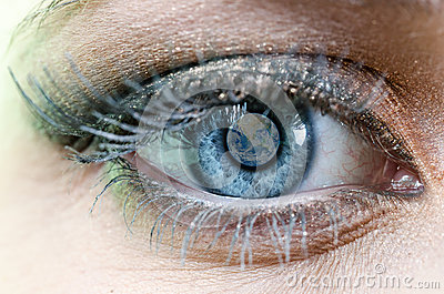 Earth Blue Eye