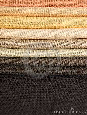 Earth colors fabrics