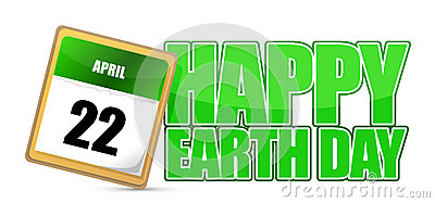 Earth day calendar april 22