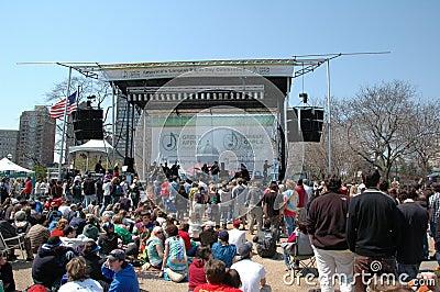 Earth Day Celebration Editorial Photo